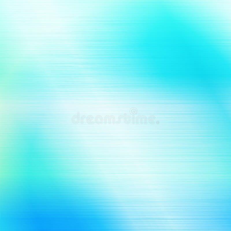 Fondo blu dell'estratto di Wave leggero royalty illustrazione gratis