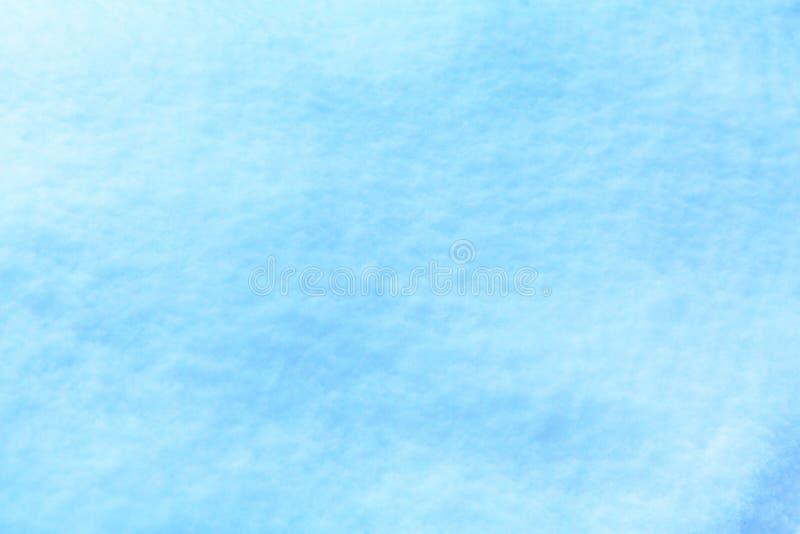 Fondo blu della neve di Natale astratto di arte fotografie stock
