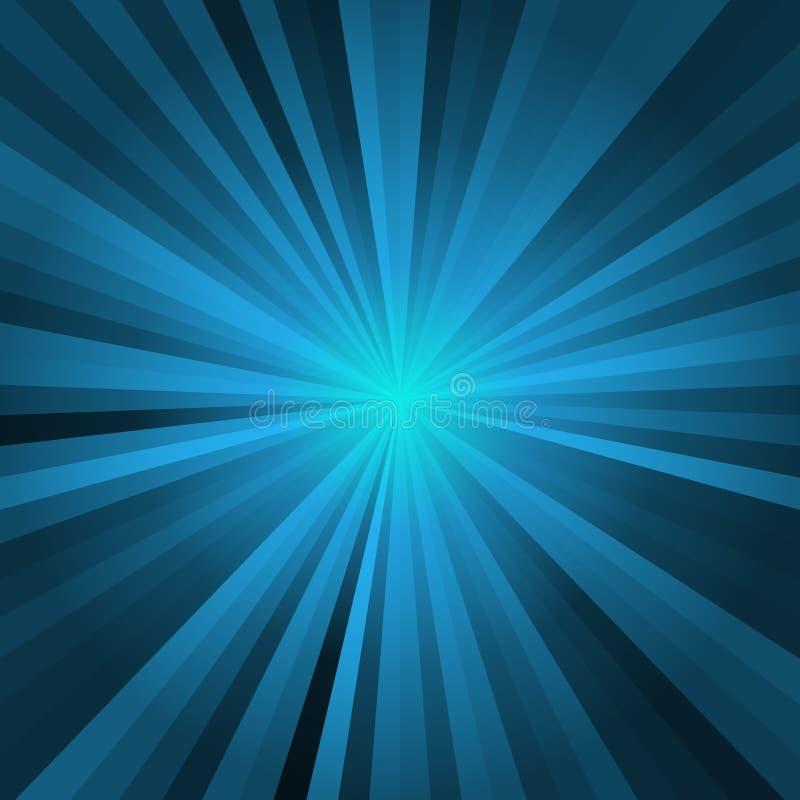 Fondo blu di incandescenza, luce moderna con fondo nero e eccellente, modello astratto immagine stock libera da diritti
