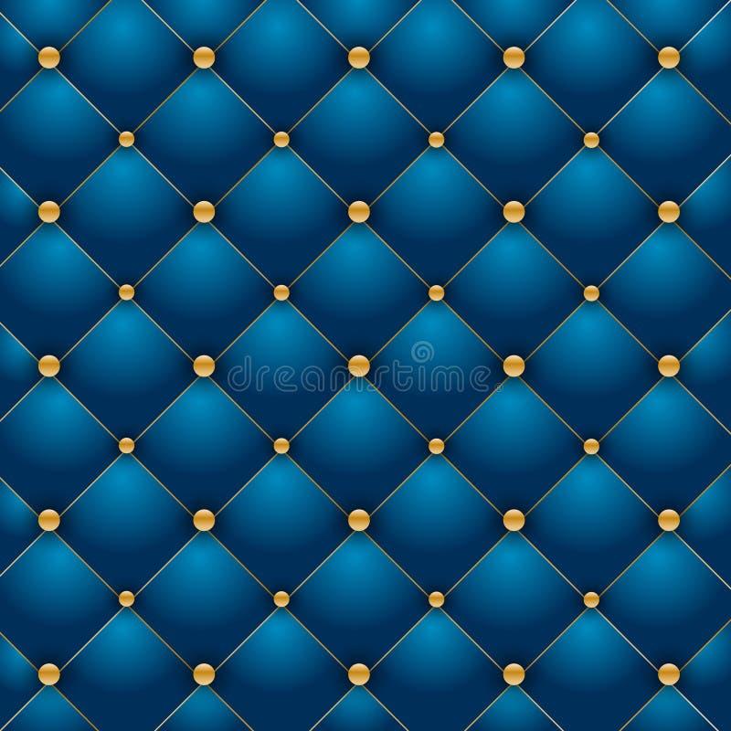 Fondo blu di lusso illustrazione vettoriale
