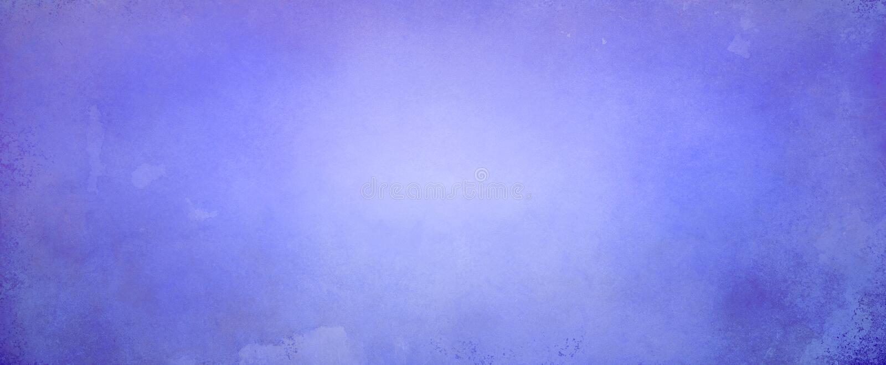 Fondo blu porpora dell'estratto con l'ardore luminoso morbido del centro e confine scuro con vecchia struttura d'annata di lerciu immagine stock