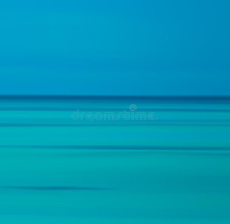 Fondo blured azul abstracto ilustración del vector