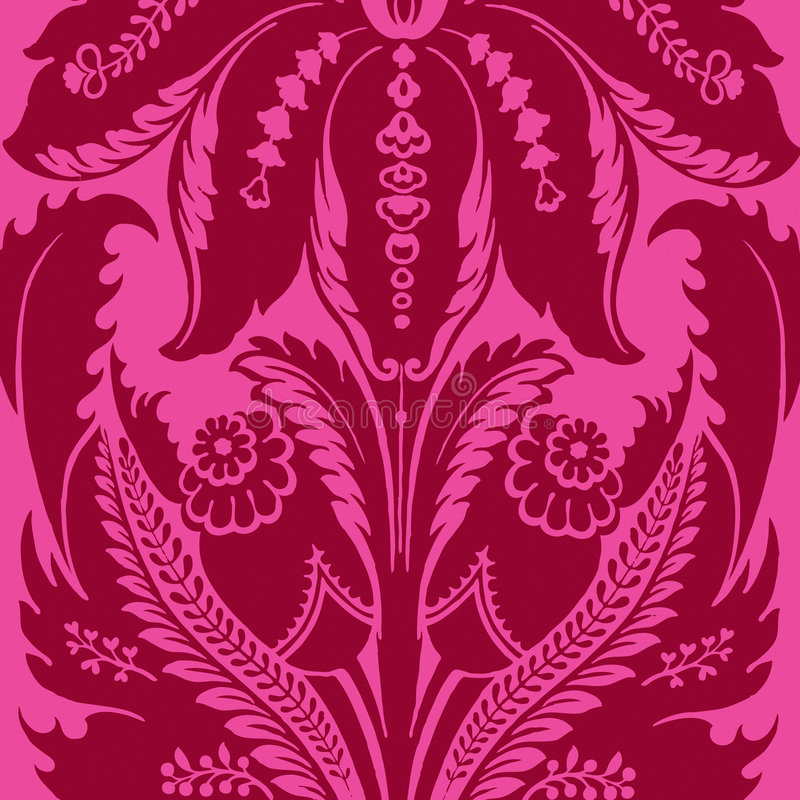 Fondo bohemio gitano floral cobarde del estilo ilustración del vector
