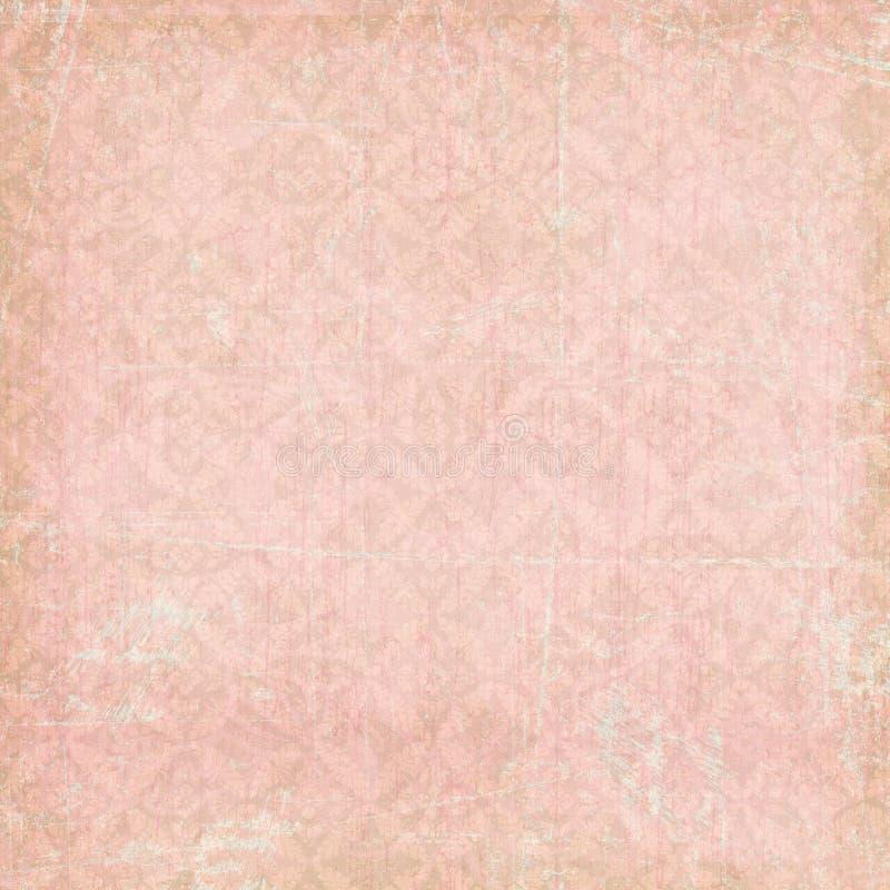 Fondo bohemio gitano floral del estilo stock de ilustración