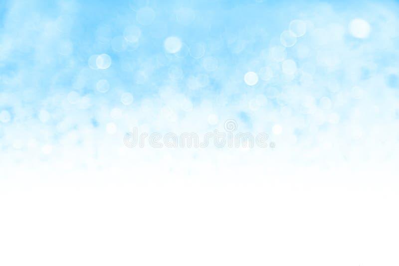 Fondo bonito de la nieve stock de ilustración