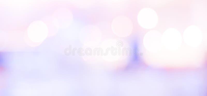 Fondo borroso, backgro abstracto ligero festivo borroso del bokeh imagen de archivo
