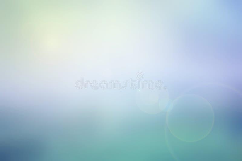 Fondo borroso cielo en colores pastel abstracto foto de archivo