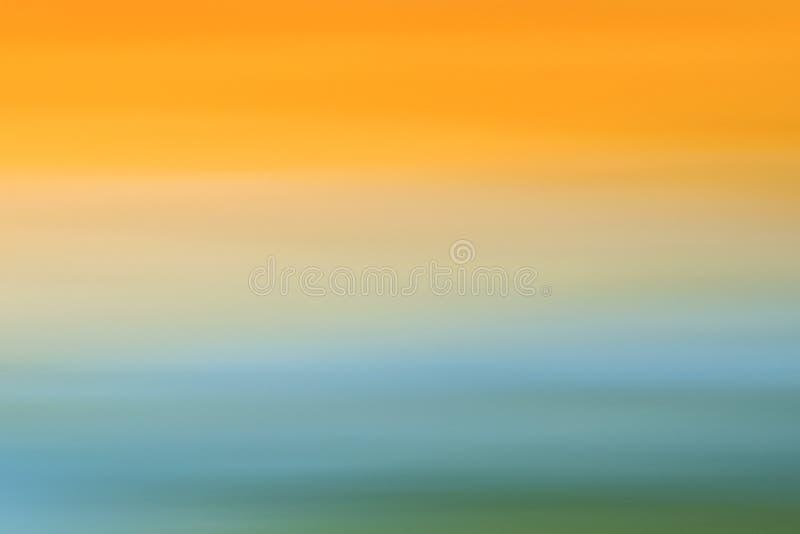 Fondo borroso colorido abstracto de la puesta del sol imagen de archivo libre de regalías