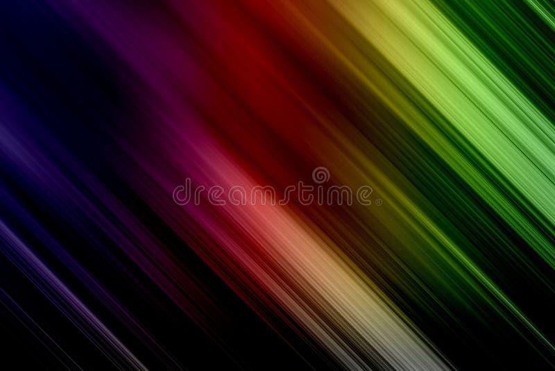 Fondo borroso colorido con efecto del movimiento ilustración del vector