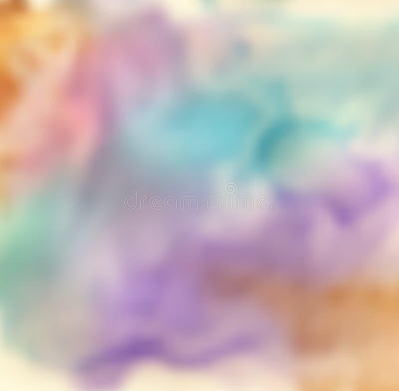 Fondo borroso colorido del vector ilustración del vector
