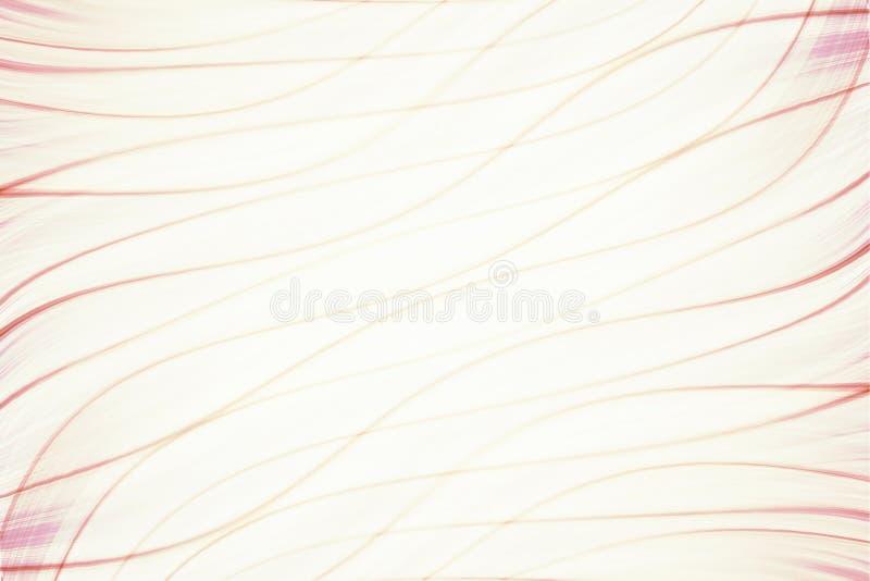 Fondo borroso con la línea rosada de la geometría fotos de archivo