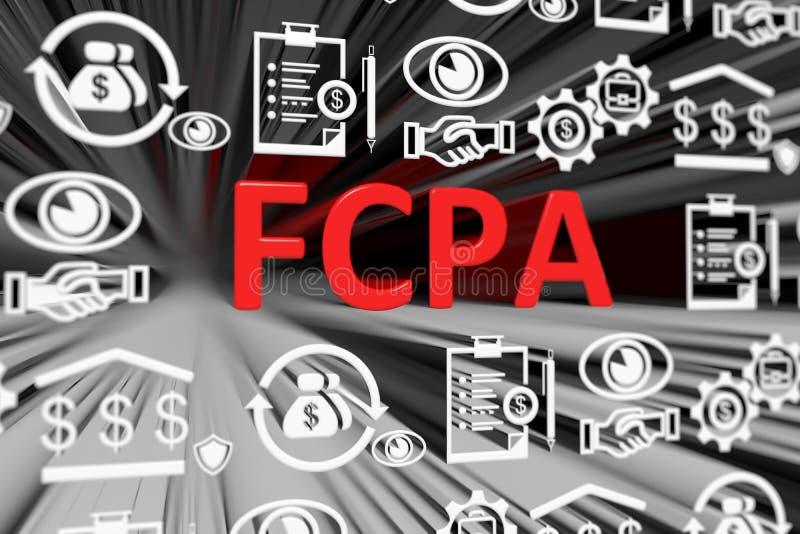 Fondo borroso concepto de FCPA libre illustration