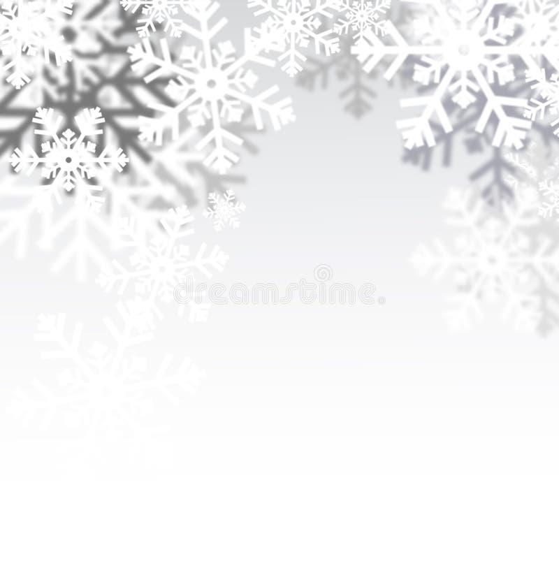 Fondo borroso del invierno para usted diseño ilustración del vector