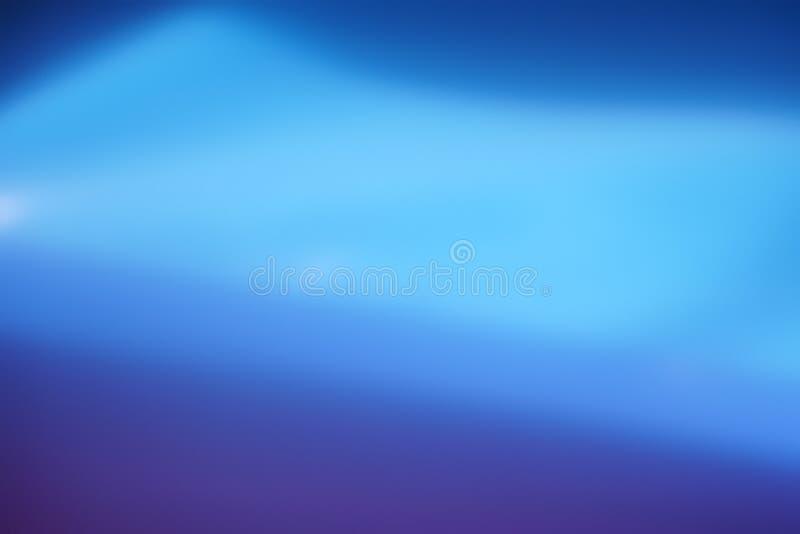 Fondo borroso extracto azul suave del color de la pendiente fotografía de archivo libre de regalías