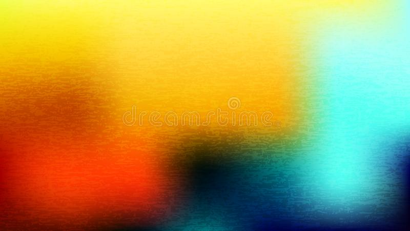 Fondo borroso grunge colorido Tarjeta abstracta moderna de la pendiente stock de ilustración