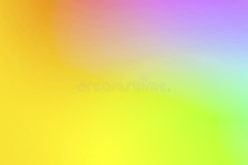 Fondo borroso pendiente hermosa del arco iris foto de archivo