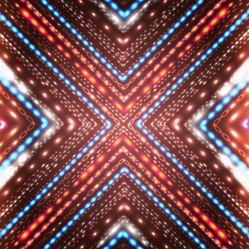 Fondo brillante abstracto con las flechas. libre illustration
