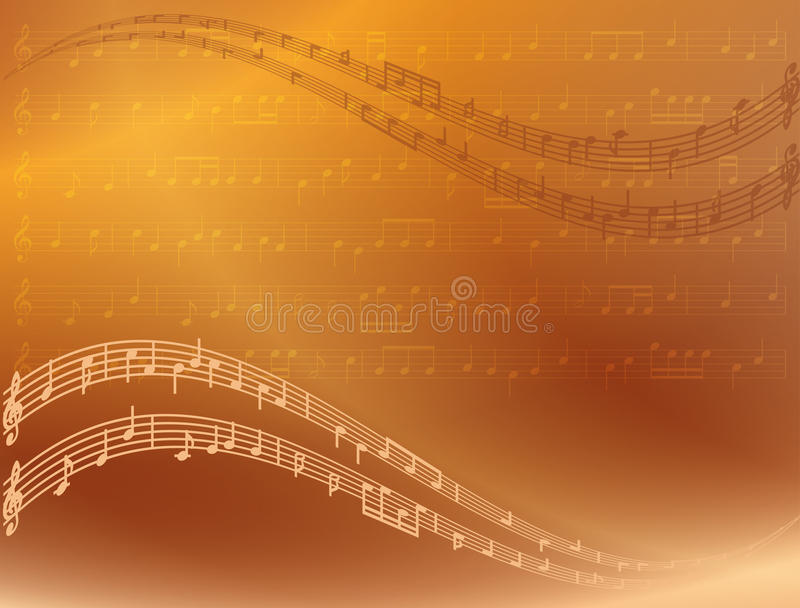 Fondo brillante abstracto de la música del vector libre illustration