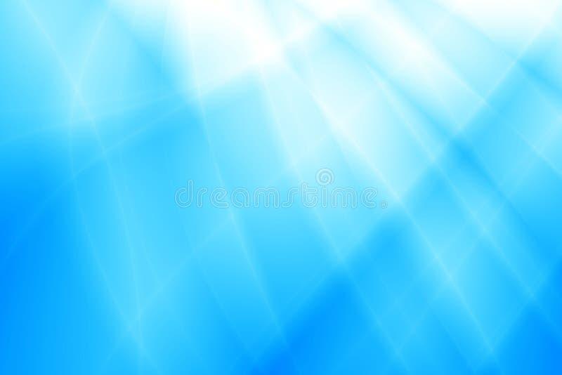 Fondo brillante azul del extracto del agua del océano imagen de archivo