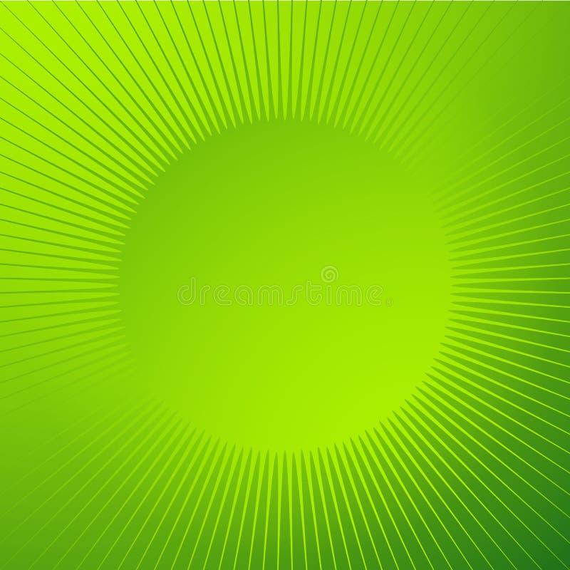 Fondo brillante brillante con forma de la chispa Líneas radiales, starb ilustración del vector