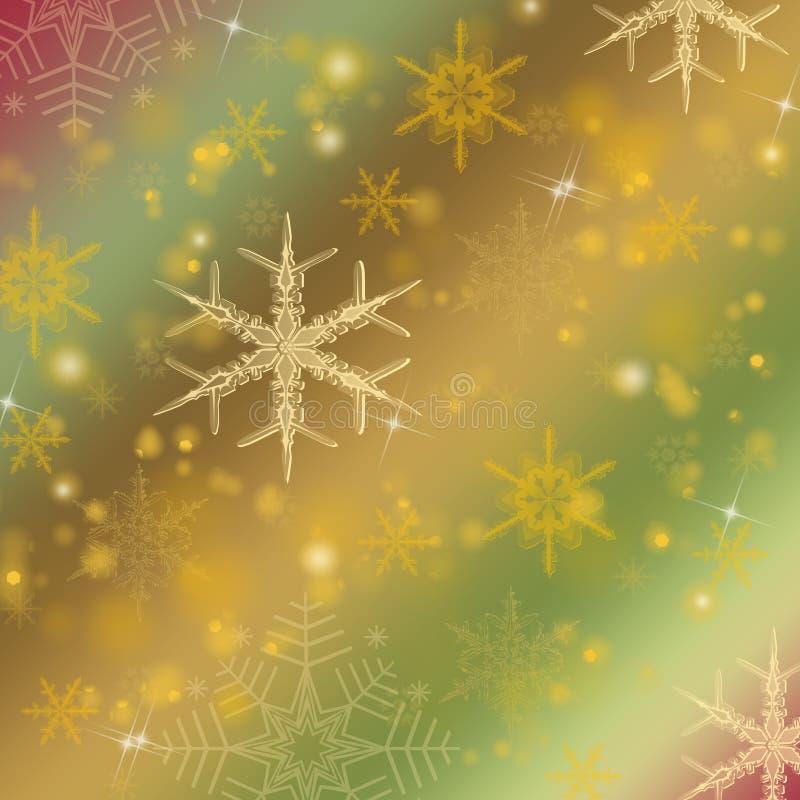 Fondo brillante colorido de la Navidad stock de ilustración