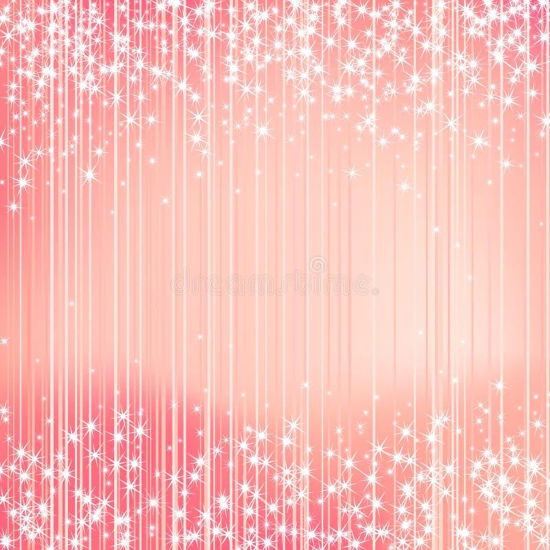 Fondo brillante con las estrellas Diseño festivo ilustración del vector