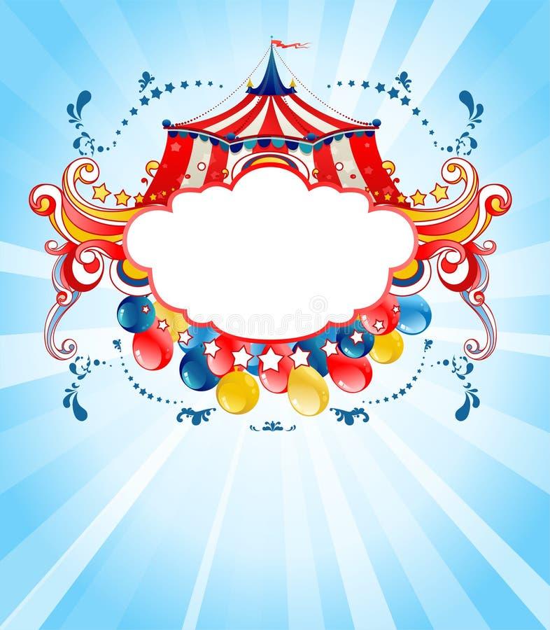Fondo brillante del circo libre illustration