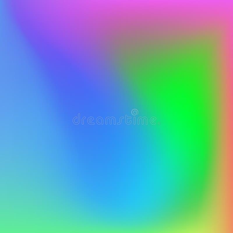 Fondo brillante del extracto de la pendiente de los colores color liso stock de ilustración