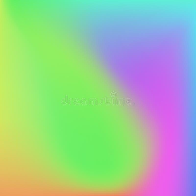 Fondo brillante del extracto de la pendiente de los colores color liso ilustración del vector