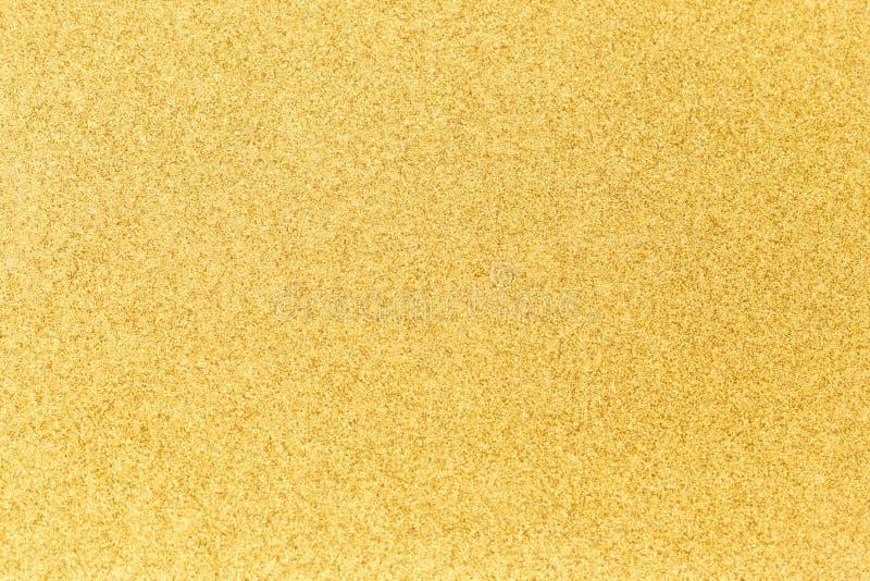 Fondo brillante del oro del brocado fotos de archivo