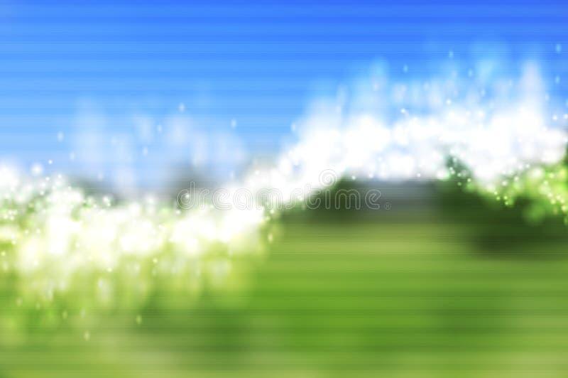 Fondo brillante luminoso di vettore di onde. Maglia di pendenza illustrazione di stock