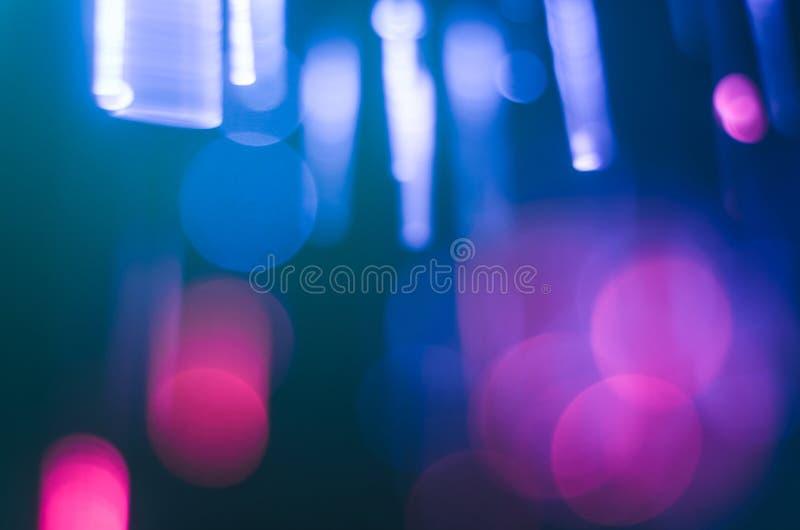 Fondo brillante y colorido del concepto de la fibra de vidrio foto de archivo libre de regalías