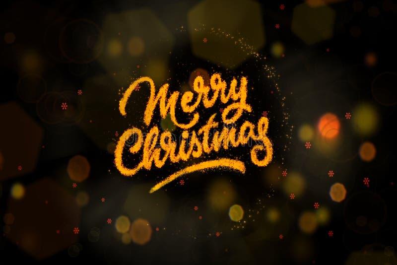 Fondo brillante y brillante de la Navidad del misterio imagenes de archivo