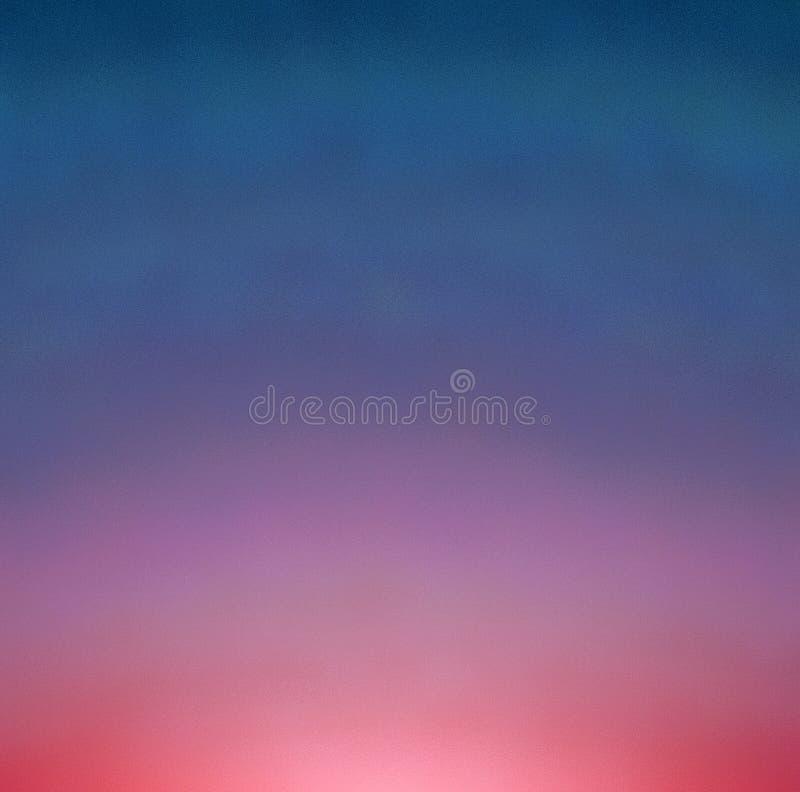Fondo cósmico del color del extracto de la pintura de Digitaces ilustración del vector