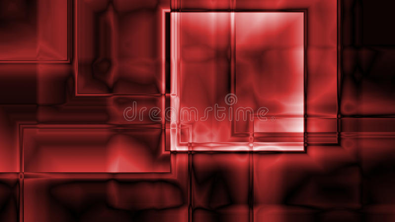 Fondo cúbico abstracto de la prisma ilustración del vector