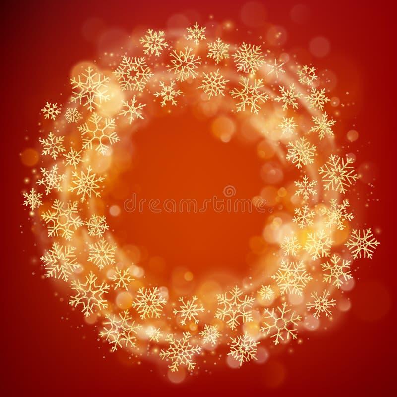 Fondo caliente de la plantilla del diseño de la tarjeta de felicitación de la Feliz Navidad EPS 10 ilustración del vector