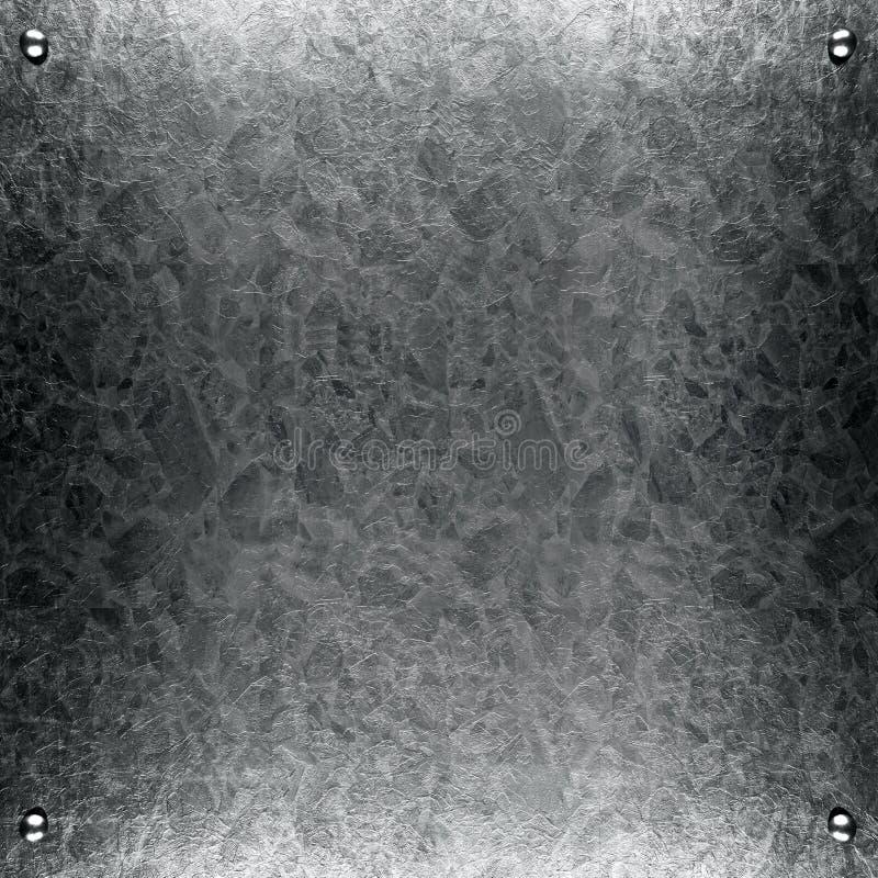 Fondo cepillado del metal del grunge fotos de archivo libres de regalías