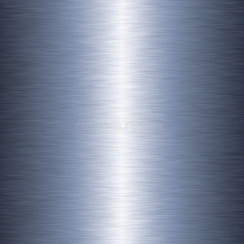 Fondo cepillado linear del metal ilustración del vector