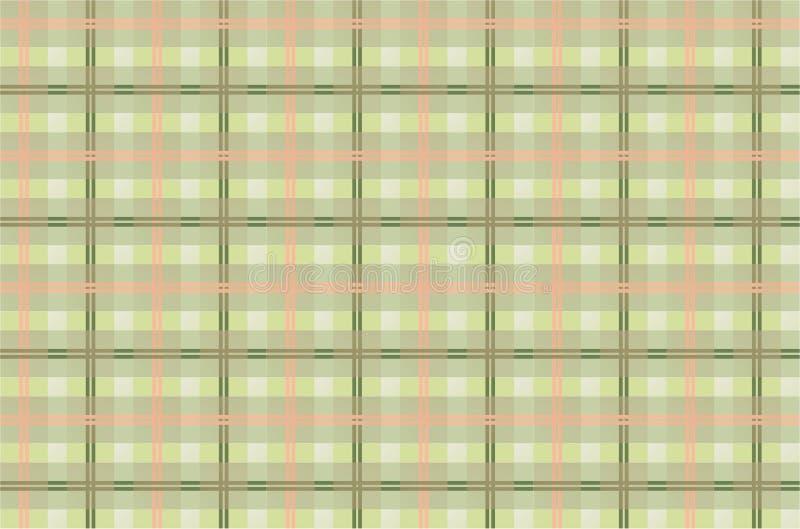Fondo Checkered stock de ilustración
