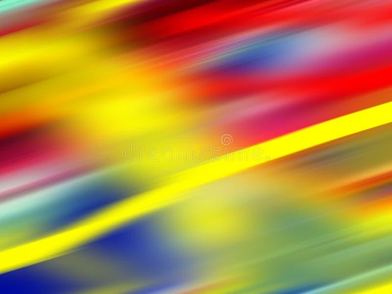 Fondo chispeante de las geometrías azules anaranjadas rojas del oro, gráficos, fondo abstracto y textura fotos de archivo