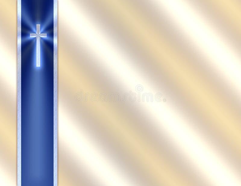 Fondo - cinta cruzada ilustración del vector