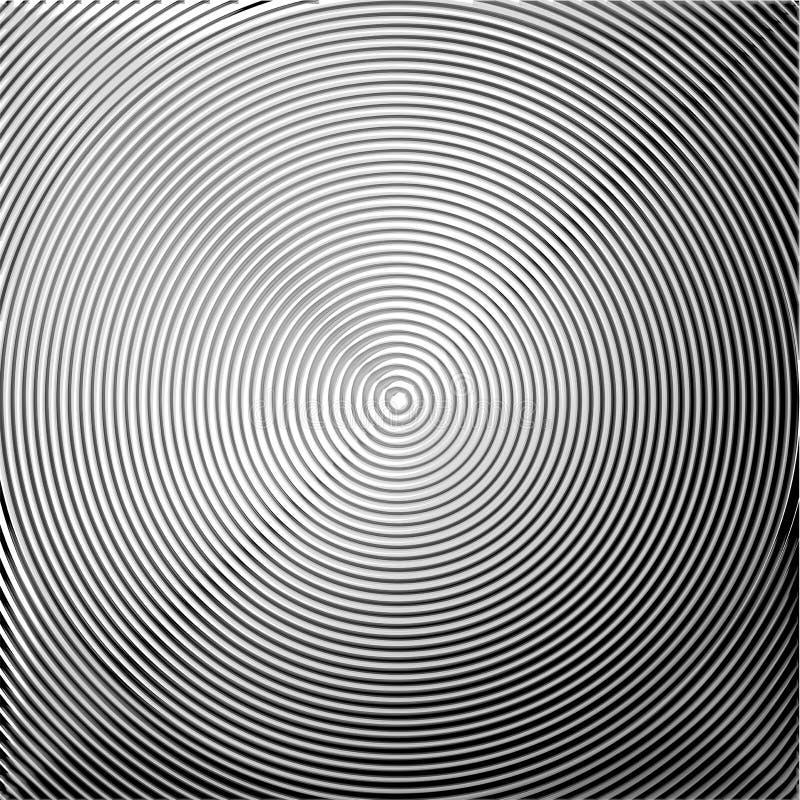 Fondo circular del movimiento del giro del diseño libre illustration