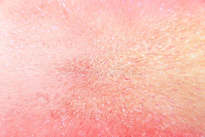 Fondo clásico de brillo rosa y coral con efecto zoom - textura abstracta imagen de archivo