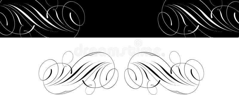 Fondo clásico del diseño stock de ilustración