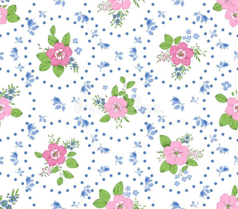 Fondo color de rosa de la elegancia lamentable ilustración del vector