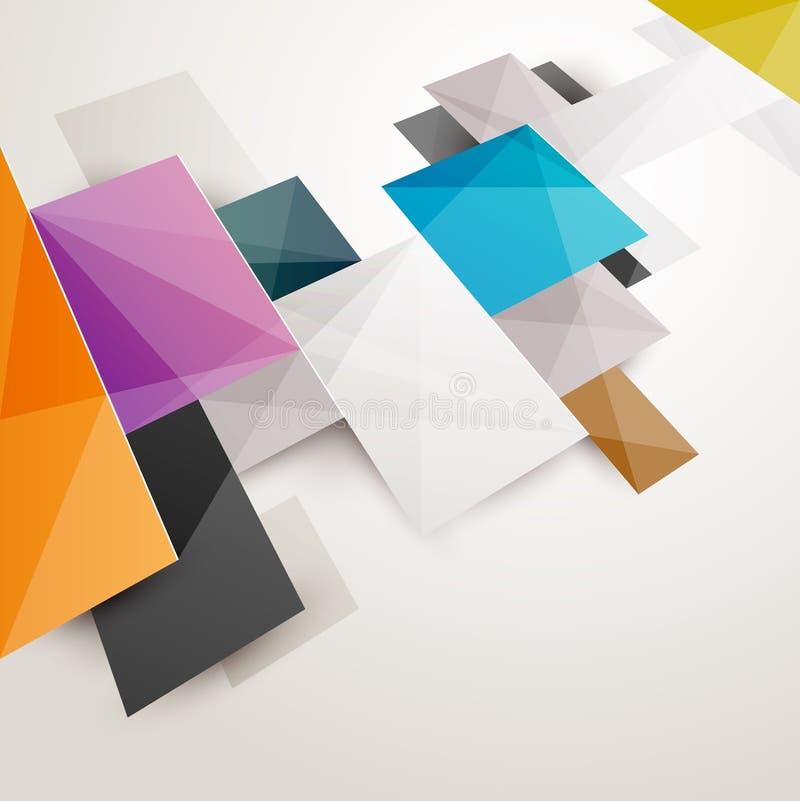 Fondo colorato estratto illustrazione vettoriale