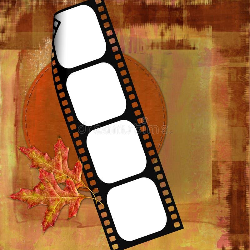 Fondo coloreado caída foto de archivo