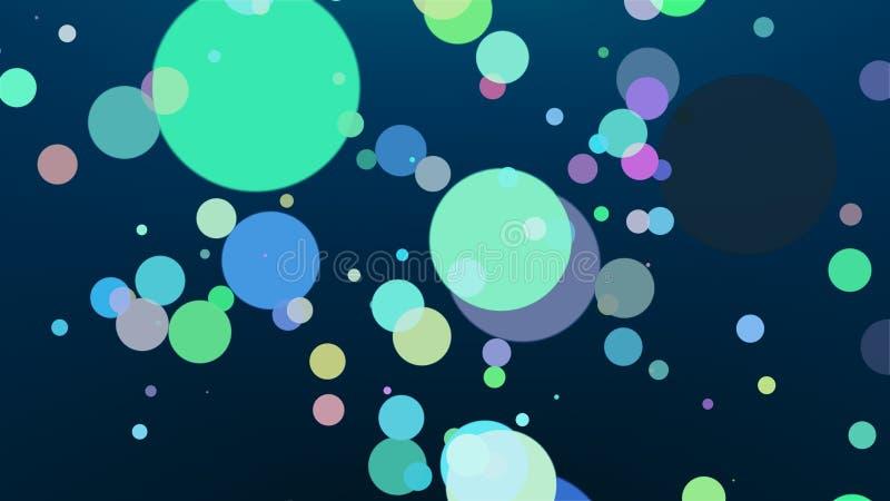 Fondo coloreado - composición abstracta libre illustration