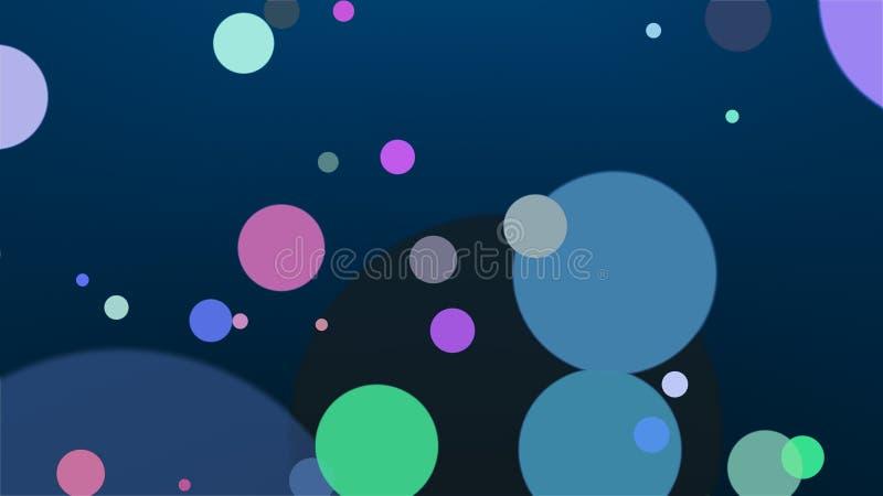 Fondo coloreado - composición abstracta ilustración del vector