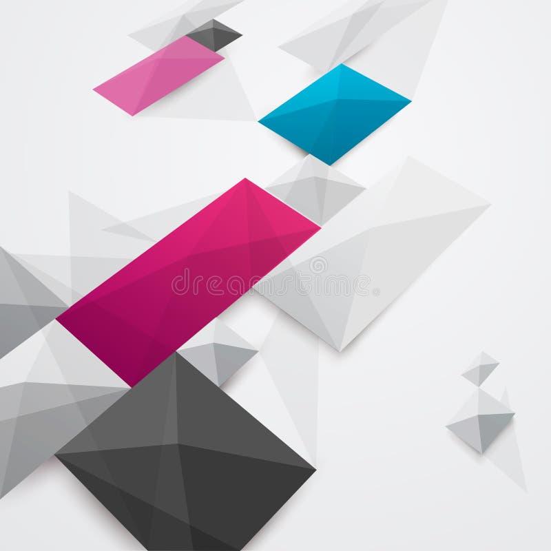 Fondo coloreado extracto stock de ilustración